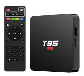 Combo Android Tv Box 4gb + 32 gb  Android 10 y teclado mini usb