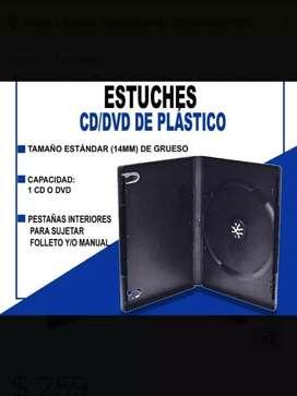 CAJA ESTUCHE CD/DVD