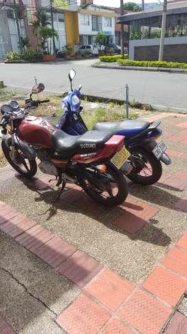 Vendo dos motos o cambio