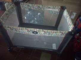 silla para bebe  -coche y paracticuna con funda y colchon