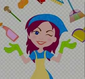 Busco sra o srta para Servicios Domésticos para fines de semana con experiencia en cocina y atención de niños