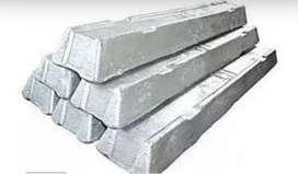 Vendo Lingotes de aluminio