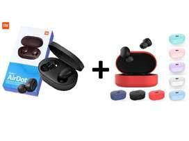 Audífonos Bluetooth Xiaomi Redmi Airdots Protector Estuche