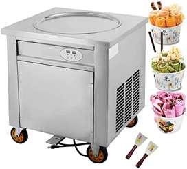 Maquina de helado ice rolls helados fritos