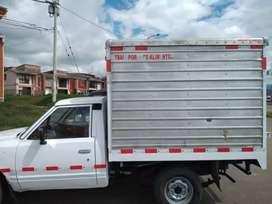 Vende o permuto furgón excelente estado capacidad 1 ton