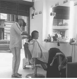 Se venden puestos completos de Barbería