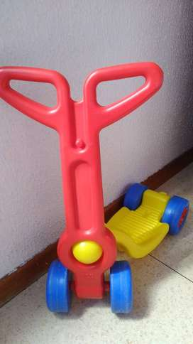Patineta Scooter Vehículo Montable Bebe Niño Boy Toys