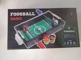 Futbolín para shots