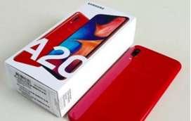 Samsung A20S Red nuevo duos