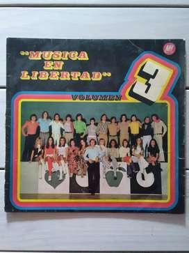 Lp Vinilo Música En Libertad Vol. 3 ( Ver Descuentos)