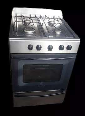 cocina para gas natural Escorial Master acero