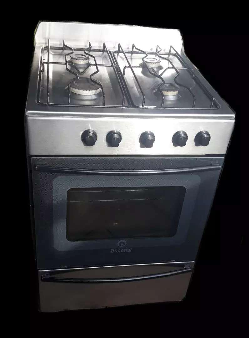 cocina para gas natural Escorial Master acero 0