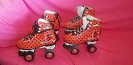 Vendo patines de niña
