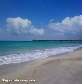 LE FINANCIAMOS LINDO TERRENO DE PLAYA EN COSTA ESMERALDA