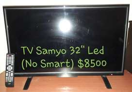 Tv Led Sanyo 32'' 8500 Charlable