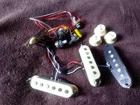 Pastillas y cableado para Stratocaster