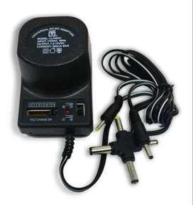 Adaptador Universal 1.5-12v  Ac/dc 6 Plug  500ma