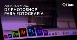 Curso profesional de Photoshop para fotografía