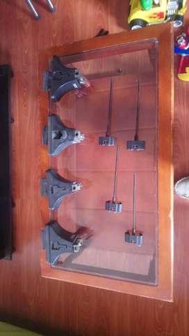 Vendo soportes TULE para parrilla de techo