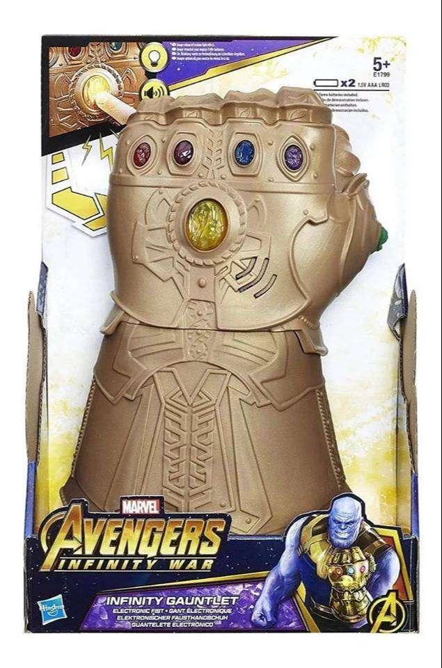 Guante de Thanos Avengers Original Hasbro 0