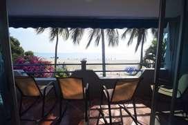 Arriendo vacacional casa frente a la playa sector Hotel Costa azul Bello Horizonte Santa Marta