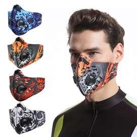 Ciclismo Máscara Facial Anti-contaminación Aire Libre Bicicleta