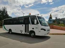 con trabajo  Buseton 36 pasajeros 2014 volkswagen