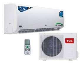 Aire acondicionado marca TCL / 18000 BTU/CREDITO DIRECTO
