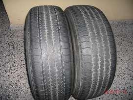 Cubiertas Usadas 245 65 17 Bridgestone Dueler HT-684 !!!