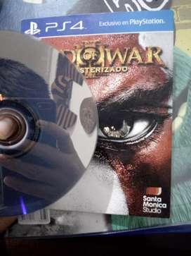 """""""Convierte en kratos"""" con god of war remasterizado"""
