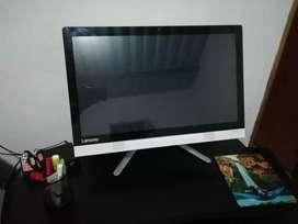 """Lenovo Todo en uno, Pantalla Tactil, Core i3 6th generación, 4 de RAM DDR4, 1 Terabyte HDD , 23"""" de pantalla Full HD,"""