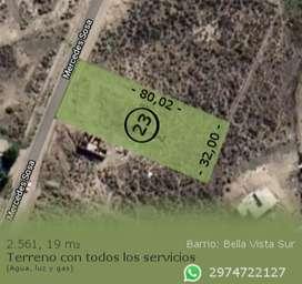 Terreno Bella Vista Sur 80x32