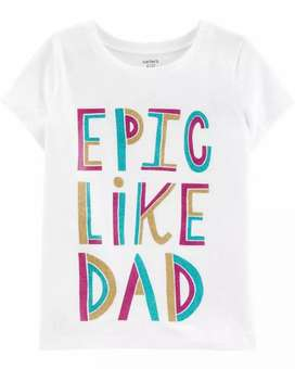 Camisetas niña 100# talla 6 talla 8