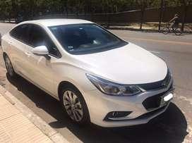 Chevrolet cruze 1.4turbo MT  año 2017 con 30000 km en excelente estado