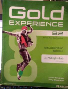 GOLD EXPERIENCE B2 STUDENT'S BOOK