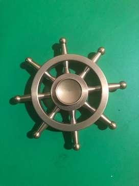 Spinner Timón dorado, anti stress