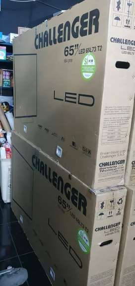Tve challenger 65 pulgadas Led (No smart)con tdt