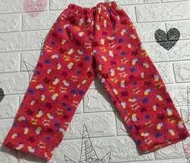 Pantalones de polar infantes