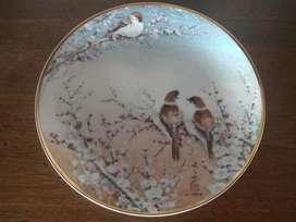 Obra de Arte Plato Porcelana Pintado