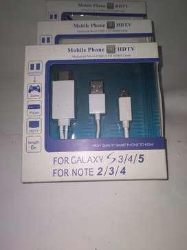 Cable HDTV para teléfonos Samsung
