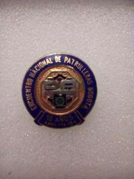 Botón Pin, colección DATT ( Tránsito y Transporte )  conmemorativo 1984