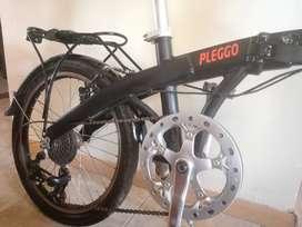 Bicicleta plegable olmo aluminio