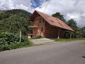Venta de Hermosa Casa de Campo Para Vacacionar 200 m², Via Baños a la Parroquia El Triunfo, Patate