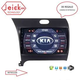 Nueva Radio Android Kia Cerato 2013-2018
