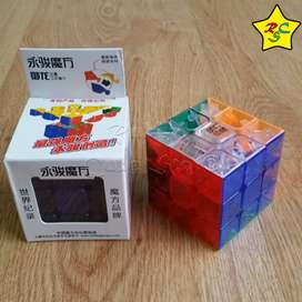 Cubo Rubik Yj Moyu Yulong Speedcube 3x3 - Transparente