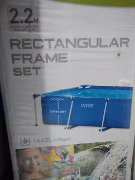 Piscina Intex Rectangular Frame Set 2.2M