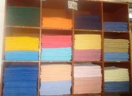 toallas  40 x 60  s/3.80 algodón nacional