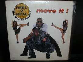 "VINILO THE MAD STUNTMAN "" MOVE IT """
