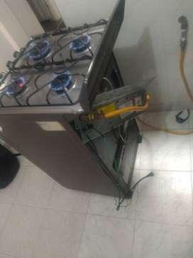Técnico estufas a gas y hornos
