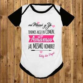 Body/ Mameluco / Bodies Personalizado Para Bebé